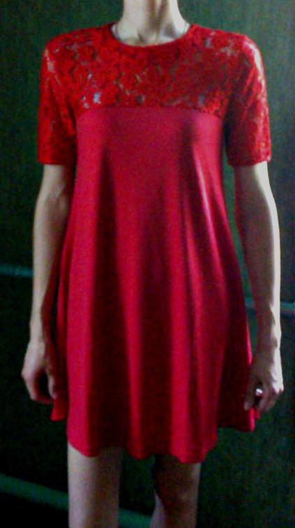 Подростковое платье Злата гипюр