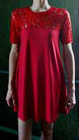 Подростковое платье Злата гипюр, фото 1