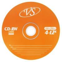 CD-RW  диски VS емкостью 700Mb(80 минут)