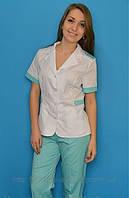 Медицинский костюм скоротким рукавом