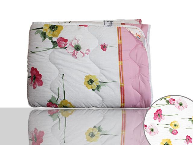 Одеяло силиконовое полуторное (розовое)