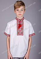 Вышиванка для мальчика с коротким рукавом Федя