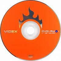 DVD-RW и DVD+RW диски VIDEX емкостью 4.7Gb(120 минут)