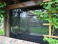 Прозрачные шторы и москитная сетка Пвх на террасу