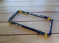 Алюминиевый бампер ElementCase Sector FE для iPhone 6/6s black+gold