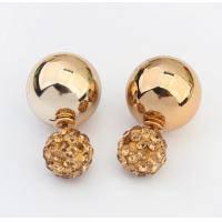 Двойные серьги-шарики Mise еn Dior Gold