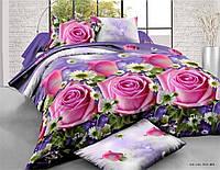 Двуспальное постельное белье хлопок (ренфорс)