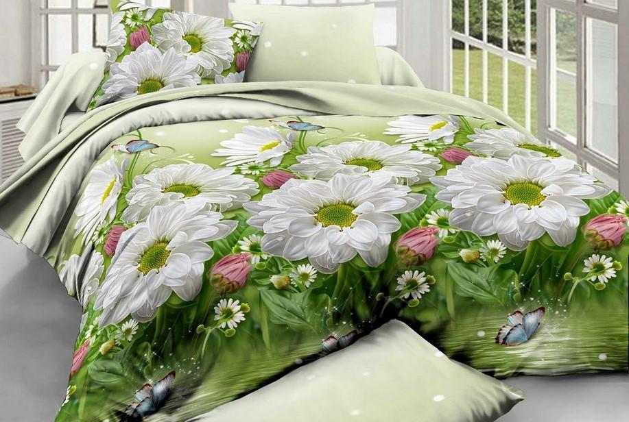 Полуторный комплект постельного белья Ренфорс