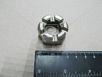 Гайка М20 прорезная пальца рулевого ЗИЛ (корончат.) (Производство Украина) 303286
