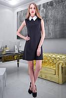 Платье с белым воротником  М7 Код:300146522