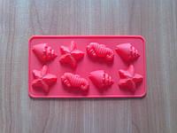 Форма силиконовая для конфет Морская тема