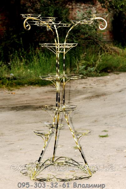 башня на 30 чаш, подставка для цветов