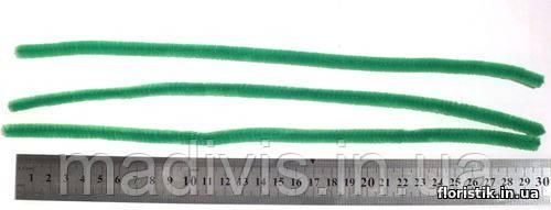 Проволока синельная, 7 мм. светло-зеленая