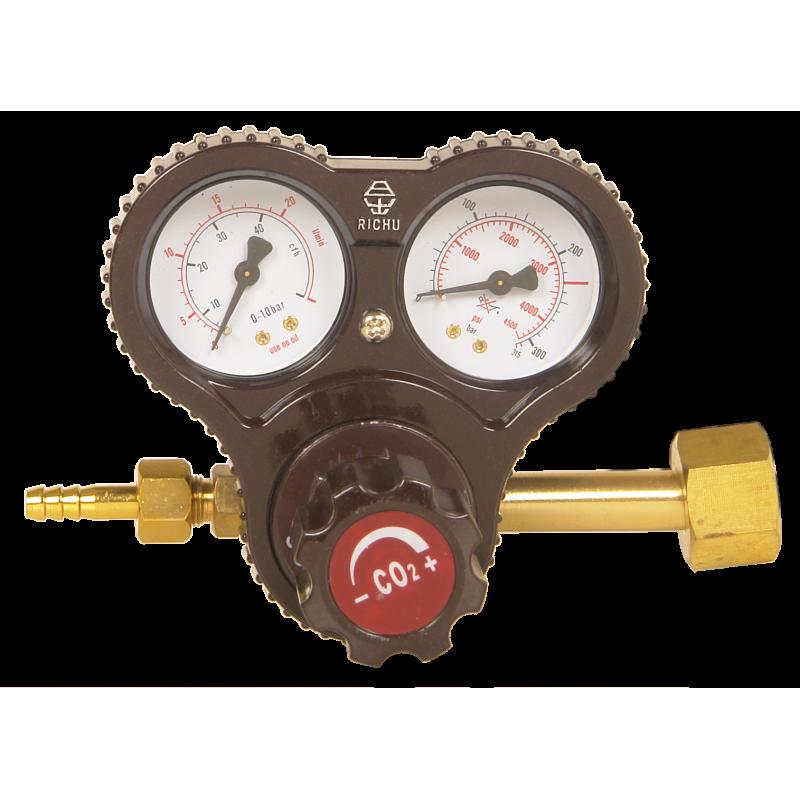 Регулятор давления AR/CO2 с подогревом
