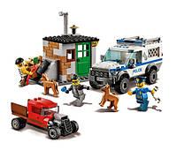 Конструктор Полицейский отряд с собакой BELA 10419 (аналог lego  60048)
