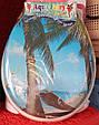 Сиденье мягкое с крышкой для унитаза  Aqua Fairy Classic, белая, фото 8