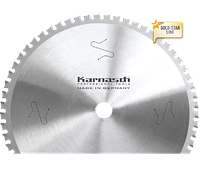 Пильный диск для нержавеющей стали 216x 2,0/1,6x 30mm  z=54 WZ, Dry-Cutter by Karnasch