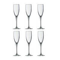 Набор фужеров для шампанского 170 мл Signature 6 предметов Luminarc H8161