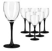Набор фужеров для вина 250 мл 6 предметов Domino Luminarc H8169