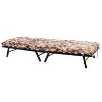 Раскладушка кровать Дачная с матрасом  и ламелями