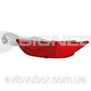 Відбивач в задньому бампері правий Ford Fiesta 08-12 ZFD1607R 8A6115500AB