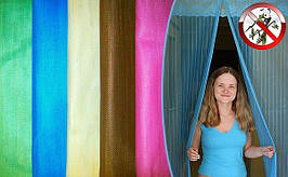 Антимоскитные штори