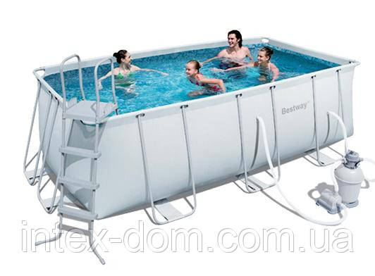 Каркасный бассейн Bestway 56466 (549*274*122см)