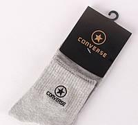 Носки Converse высокие, серые, фото 1