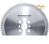 Дисковые пилы по стали с тонким резом 250x 2,0/1,75 32mm z=72 Z  с покрытием GOLD-STAR, Карнаш (Германия)