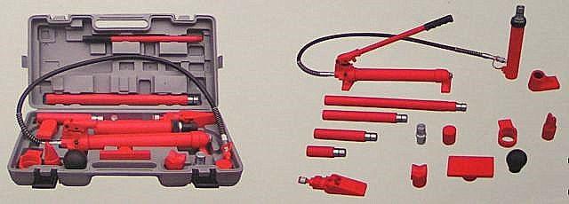 Гидравлический набор гидрорастяжек с усилием 10 т