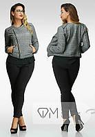 Женский пиджак больших размеров е-202263