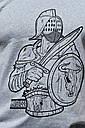 Мужская футболка серая ТУР Spartacus, фото 6