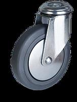 Аппаратные колеса JEPE / BEPE-серии колесо с серой термопластичной резиной протектора, фото 1