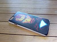 """Пластиковый чехол MARVEL  для iPhone 6/6s """"Железный человек"""""""