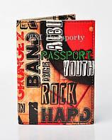 "Обложка на паспорт ""HARD ROCK"""