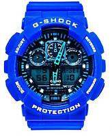 Часы наручные Casio G-Shock ga-100 Blue