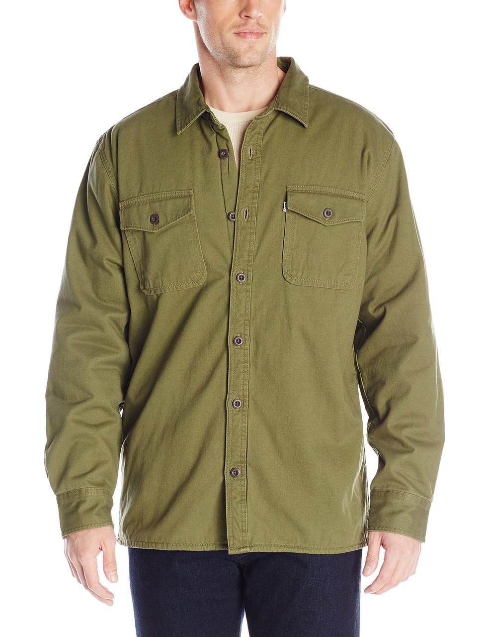 Куртка Levi's Rittner, S, Dark Olive, 3LYLW7252