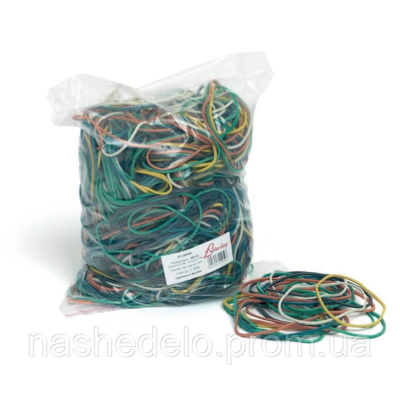 Резинка для вязания зелени 25*1,5 мм 1 кг.