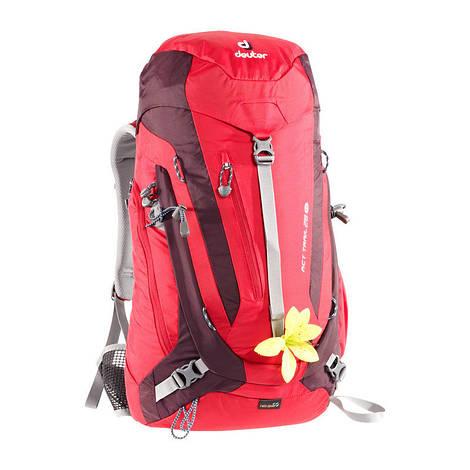 Рюкзак туристический женский Deuter ACT Trail 28 SL fire/aubergine (3440215 5513)