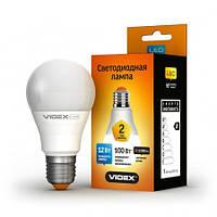 LED лампа светодиодная VIDEX A60e 12W E27 3000K 220V