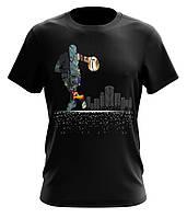 Мужская оригинальная футболка Amulet Basketball