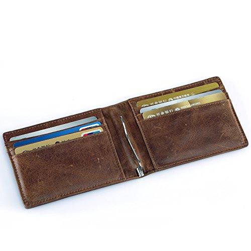 5d2f5c667151 Кошелек-зажим для денег K310 Coffee – купить в интернет-магазине ...