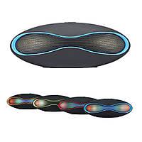 Беспроводная Bluetooth Stereo Колонка X6 LED mini