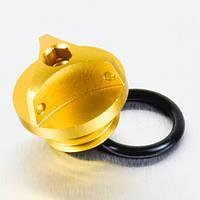 Пробка заливной масляной горловины картера Pro-Bolt Suzuki желтая