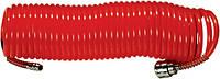 Шланг высокого давления, спиральный, нейлоновый, 6х8 мм, L-15 м MTX