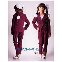 Модный школьный костюм для девочки подростка
