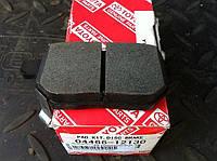 Колодки тормозные дисковые, комплект, задние на Toyota Auris.Код:04466-12130