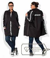 Модное пальто больших размеров е-202282