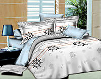 АКЦИЯ! Полуторный комплект постельного белья Морской Круиз