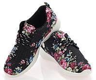 Спортивная женская обувь, кроссовки яркого цвета на шнуровке